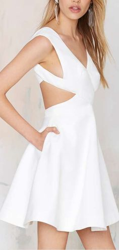 glory of love cutout dress