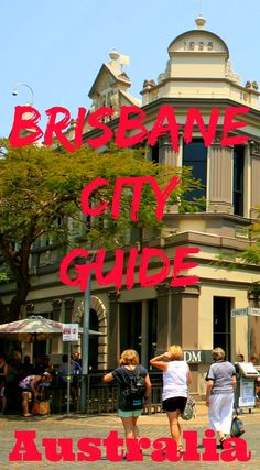A complete Brisbane City Guide with everything you need to know to plan your trip to Brisbane. Travel information, hotel recommendations and places to eat and drink in Brisbane. It's all here! Enjoy a weekend in Brisbane or a longer Brisbane city break.