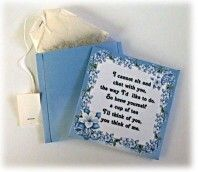 These are easy printable tea packet envelopes.