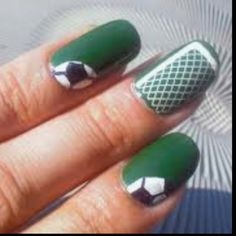 Soccer lovers nails