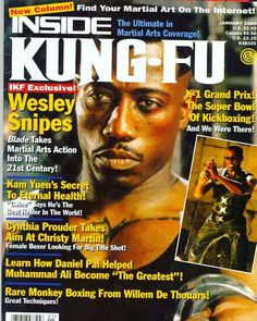 In the photo Here a of 20 years back. It mention in biography that he has… Wesley Snipes, Kickboxing, Kung Fu, 20 Years, Biography, Grand Prix, Martial Arts, Movie Posters, Kick Boxing