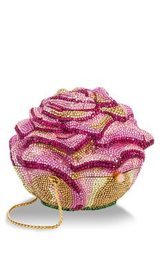 Rose minaudiere by Judith Leiber