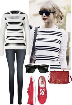 """Taylor Swift inspired outfit"" by blondeprincess623 ❤ liked on Polyvore"