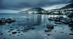 Nightscapes by Jakob Wagner, via Behance