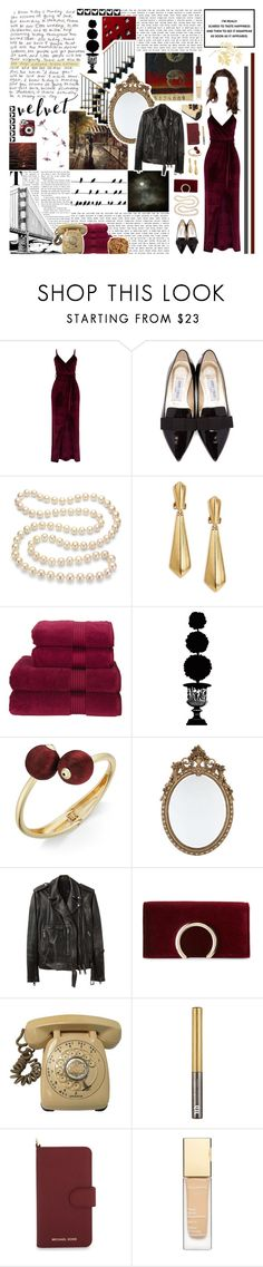 """""""love grows colder in the winter... (+SEP. WRAP UP)"""" by whimsical-angst ❤ liked on Polyvore featuring GET LOST, Jimmy Choo, DaVonna, Oscar de la Renta, Christy, Universal Lighting and Decor, INC International Concepts, R13, Jessica McClintock and Polaroid"""