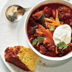 Poblano-Jalapeño Chili   CookingLight.com