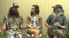 SADIE, SI AND JASE ROBERTSON PUT OUT THE (DUCK) CALL FOR CHARITY
