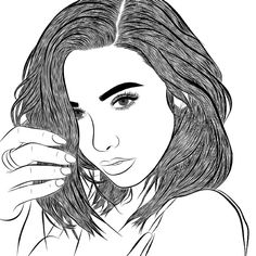 ❤ #love #drawing #outline #outlines