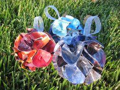 Passione uncinetto: IDEE PER IL NATALE: palline di carta