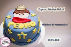 Sweet Cucas and Cupcakes by Rosângela Rolim: Pequeno Príncipe Pedro!