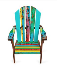 With its slatted back and generous armrests, the Endless Summer Chair is our tribute to lazy cottage days and evenings around the campfire. In July, we invite you to take a seat for summer with OFF our collection of reclaimed wood chairs: