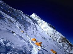 Brawl On Everest | camp at mount everest pictured on may 8 2009 a mountaineer on everest ...