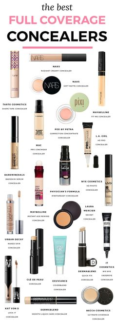 or die makeup, favorite makeup, favorite concealers, concealer for dark circles, beauty secrets, beauty tips, makeup artist favorite concealers, Tarte Shape Tape, NARS Radiant Concealer, Maybelline Fit Me, color correcting concealer, Florida beauty blogger Ashley Brooke Nicholas