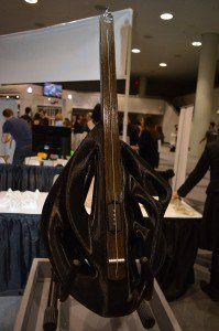 3D Printed Cello, 2-String Violin & Single String Bass Guitar Stun Crowds at 3D Print Week NY http://3dprint.com/59182/3d-printed-cello-violin-guitar/