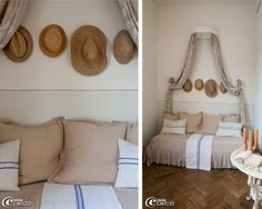 Ciel de lit on pinterest bed crown canopies and bed canopies - Tete de lit blanc d ivoire ...