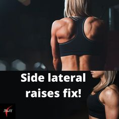 Side lateral fix! – Skarfit Rear Delt, Scapula, Lateral Raises, Back Muscles, Moving Forward, Exercise, Shit Happens, Ejercicio, Move Forward