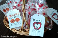 Healthy Fruit Valentine's Day Gifts | Random Recycling: Green Living for Modern Families