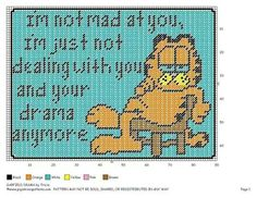 Garfield drama