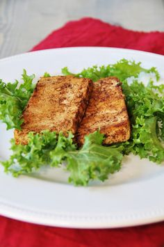 How to Make Jamaican Jerk Tofu- drain fo 2 hours then put in refrig overnight- blogger is addicted to this