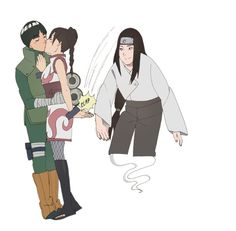 Close-up of the commission I asked to do. Original upload Neji doesn't want TenTen to be miserable. he wants her to be strong, he wants. Supporting his friend's happily-ever-after Naruto Sasuke Sakura, Naruto Art, Anime Naruto, Hinata, Rock Lee And Tenten, Neji And Tenten, Naruto Shippuden Characters, Naruto Uzumaki Shippuden, Naruto Couples