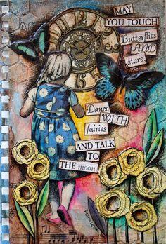 Victoria's Art Visions Art Journaling