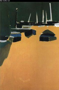 Nicolas de Stael Landscape