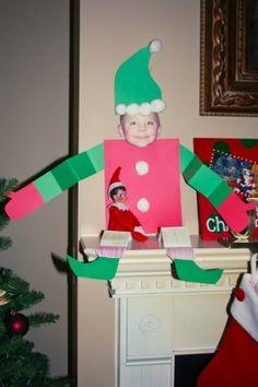 Elf on a shelf by Missmorse