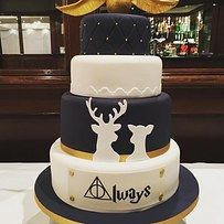 You Canu0027t Go Past A Themed Cake. Harry Potter Themed WeddingThemed ...