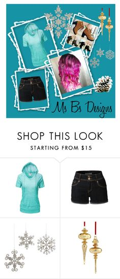 """""""Untitled #406"""" by carmen-41-navarro ❤ liked on Polyvore featuring LE3NO and Holiday Lane"""