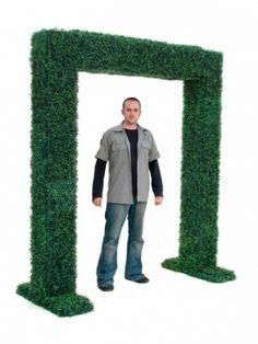 Topiary Box Hedge Entranceway