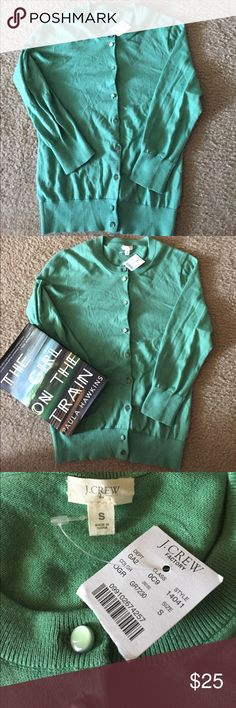 J. Crew green sweater size S new with tags Sweet J. Crew green sweater size S J. Crew Sweaters Cardigans