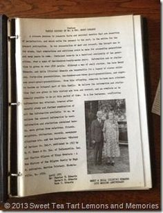 Family history, the little black book. I need to do this with my printed info! Family history, the l Family Tree Book, Family History Book, History Books, Family Trees, Family Life, Genealogy Organization, Organizing, Books For Moms, History Projects