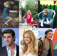 Hunger Games cast, then and now