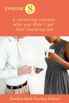 As a new teacher, you've probably been on many, many interviews without any luck. Here are some reasons why you may not have been hired for that position. first year teacher Teaching Job Interview, Teaching Jobs, Student Teaching, Teaching Philosophy, Philosophy Of Education, Teaching Methods, Teaching Strategies, Teaching Resources, Learning Log