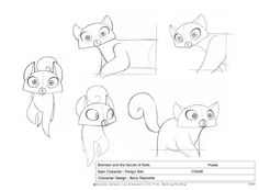 Art of Animation Character Model Sheet, Character Sketches, Character Concept, Concept Art, Main Character, Character Reference, Animation Reference, Drawing Reference, Cat Design