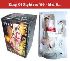 King Of Fighters '99 - Mai Shiranui - 1/8 Scale Sculpted by Kaz. '99 King of Fighters' Video Game heroine Mai Shiranui figure statue.
