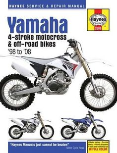 Haynes m2222 repair manual for 1986 07 honda cr80 cr125r cr250r yamaha yz wr motocross off road bikes haynes service repair manual fandeluxe Images