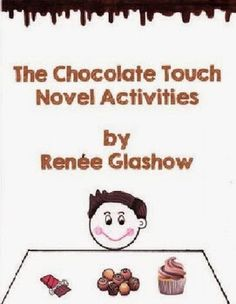 The Chocolate Touch Novel Activities and Lapbook 2nd Grade Books, 4th Grade Reading, Third Grade, Guided Reading, Fourth Grade, Reading Activities, Educational Activities, The Chocolate Touch, Book Study