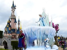 Parcs d'attractions : La Fête givrée Disneyland