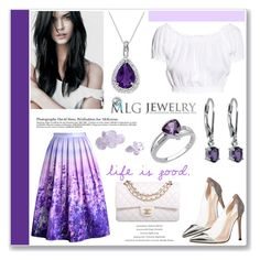 """""""Good Life with MLG Jewelry"""" by helenevlacho ❤ liked on Polyvore"""