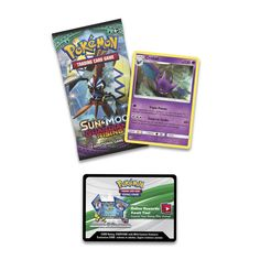Pokémon TCG combo pack with 1 cool Pokémon coin to add to your collection, an awesome Pokémon TCG booster pack, and a Crobat foil promo card!