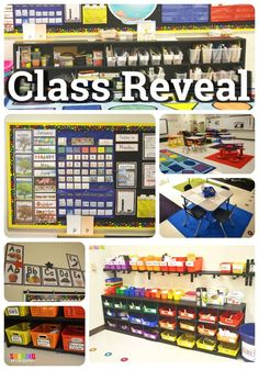 Classroom Reveal. Cl
