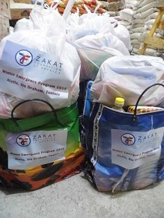 In collaboration with Attaween, ZF provided much-needed gas tanks for heating and blankets to poor families in Tunisia. — in Tunisia.