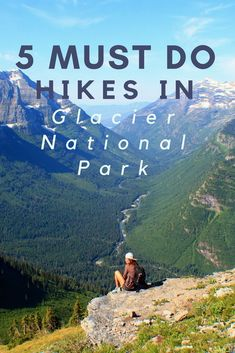 The best day hikes in Glacier National Park // Top 5 hikes in Glacier national Park // 5 best hikes in Glacier National Park // Hiking in Glacier National Park // Best family friendly hikes in Glacier National Park // Best easy hikes in Glacier National P Glacier National Park Montana, Glacier Park, Rocky Mountain National Park, Yellowstone National Park, Glacier National Park Camping, National Forest, On The Road Again, Us National Parks, Best Hikes