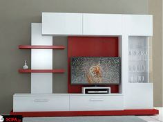 Best 40 modern TV wall units wooden tv cabinets designs for living room interior 2020 Living Room Wall Units, Living Room Tv Unit Designs, Tv Unit Decor, Tv Wall Decor, Lcd Wall Design, Tv Unit Furniture Design, Tv Wall Cabinets, Tv Cabinet Design, Modern Tv Wall Units