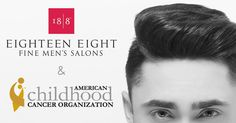 The American Childhood Cancer Organization (ACCO) is excited to announce another amazing corporate partnership! Three of the well-known, exclusive, fine men's hair salons, 18/8 Fine Men's Salons, have joined the ACCO to help children, teens and families facing a diagnosis of childhood cancer with a 45 day long #GoGold For Kids with Cancer Event.  For our friends in the Austin, Woodlands and Sugar Land, TX area, call to make an appointment between March 1st - April 15th, for a fine men's…