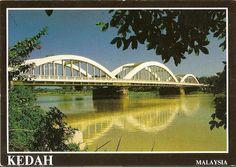 Postcard A La Carte: Malaysia - Merdeka Bridge, Kedah