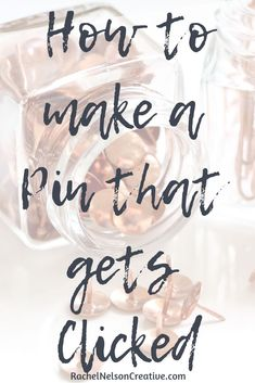 5 Steps to creating pins that get clicked even if you aren't a graphic designer. How To Make Money, How To Get, Pinterest Design, Blog Online, Pinterest Tutorial, Pinterest Marketing, Getting Things Done, Online Business, 5 Things