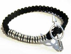APOLLON men's beaded Bracelet-16002 by APOLLONmj on Etsy Men's Style, Beaded Bracelets, Mens Fashion, Unique Jewelry, Handmade Gifts, Etsy, Vintage, Male Style, Moda Masculina