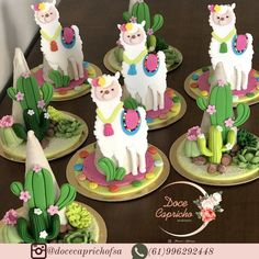 3rd Birthday Parties, 10th Birthday, Llama Birthday, Chocolates, Xmas Ornaments, Cake Art, Party Time, First Birthdays, Cupcake Cakes